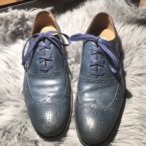 Midnight Blue Johnston & Murphy Shoes